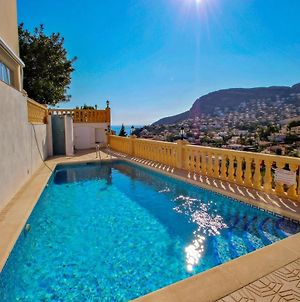 Tosal Julia - Sea View Villa With Private Pool In Calpe photos Exterior