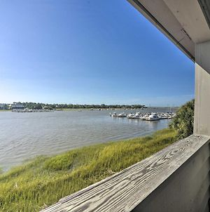 Riverfront Folly Beach Retreat With Pool Access! photos Exterior