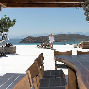 Luxury Villa Dimitra Next To The Beach And Amazing Sea View In Crete photos Exterior