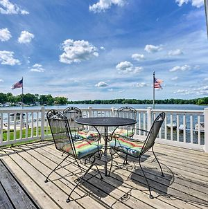 Lakehouse With View, Dock, Sunroom And 2 Decks! photos Exterior