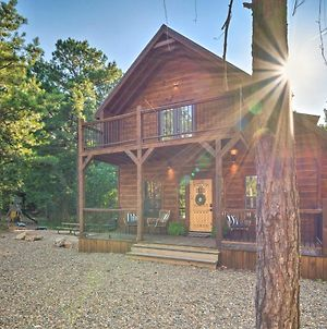 Luxury Forest Cabin About 3 Mi To Broken Bow Lake! photos Exterior
