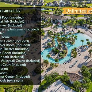 Launch Offer Amazing 5Bdrm Townhome Free Waterpark photos Exterior
