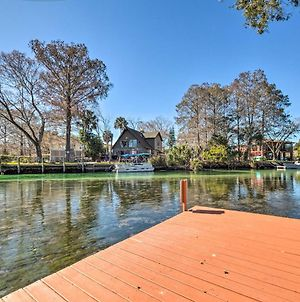 Weeki Wachee River Home On Main River By Park photos Exterior
