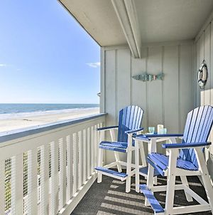 On-The-Beach Escape Oceanfront In Surfside! photos Exterior