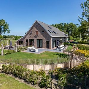 Luxurious Mansion In Vrouwenpolder In Former Barn photos Exterior