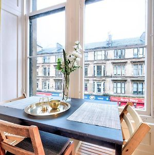 Altido Modern Chic 2Bed Apt On Byres Road photos Exterior