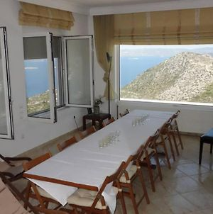 Villa Eva-Magnificent Sea View-50Km From Athens photos Exterior
