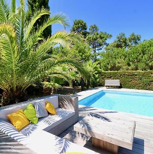 Charming Wooden Villa With Pool And Great Outspace Close Beach photos Exterior