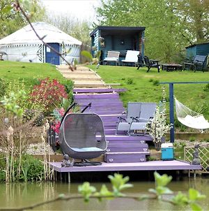 Bluebell Yurt With Private Hot Tub And Fishing photos Exterior