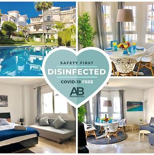 Covd 19 Free- Total Purified - Design Penthouse Duplex Marbella - 3 Mn To Puerto Banus And Beach - Golden Mile - Pool And Tropical photos Exterior