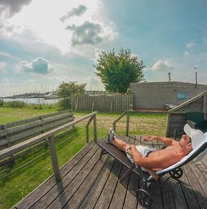 4 Pers Mia Holiday Home With Lake View In Front Of The Lauwersmeer photos Exterior