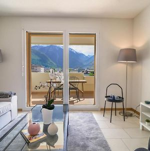 New Apartment Close To Martigny Train Station, Self Check-In photos Exterior