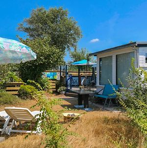 Het Kleine Huis Mobile Home By The Harbour And The Lauwersmeer photos Exterior
