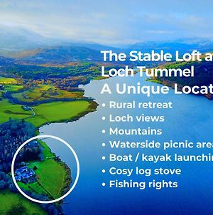 The Stable Loft At Loch Tummel photos Exterior