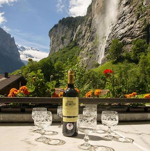 Lauterbrunnen Staubbach Beautiful Waterfall Apartment photos Exterior