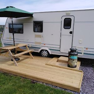 Camping Shabby Chic Caravan - Pen Cefn Farm Holiday photos Exterior