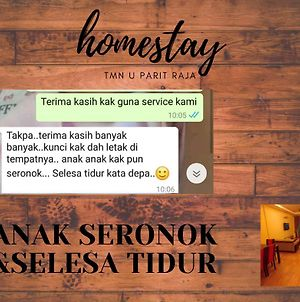Homestay Taman Universiti Parit Raja photos Exterior
