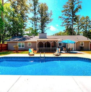 Kennesaw Oasis -Private Pool Comfy 4Bdr Sleeps 14+ photos Exterior