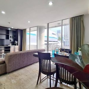 The Warm Sunset Luxury House:2Br/2Wc/Asoke/Bts photos Exterior
