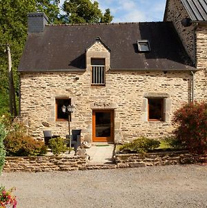 Stone Cottage With Private, Heated Covered Pool Near To Josselin Perfect Retreat For Writers Or Star Gazers photos Exterior
