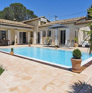 Detached Villa With Private Pool And Air Conditioning, 10 Km From The Mediterranean photos Exterior