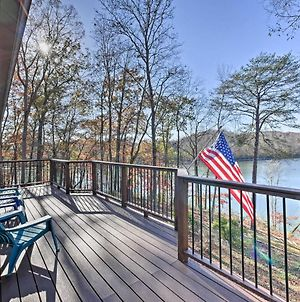 Lakefront Dayton Home With Great Views And Dock! photos Exterior