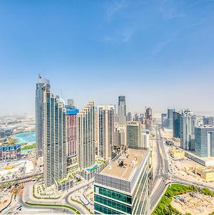 Rh- 4Br Penthouse In Downtown With Private Pool And Burj Khalifa Views photos Exterior