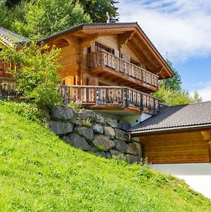 Grand Swiss Chalet Cou Cou For 10 Next To Skilift! photos Exterior