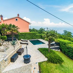 Authentic Holiday House With Private Pool And Sea View, On The Hill Over Opatija photos Exterior