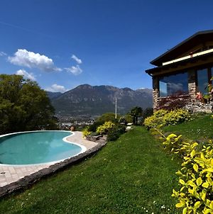 Classy Villa In Pisogne With Garden, Bbq, Pool, Sun-Loungers photos Exterior