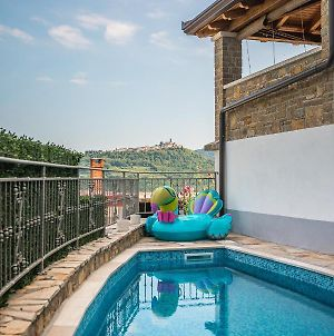 Holiday Home Belveder Motovun With Heated Pool photos Exterior