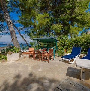 Luxury Beachfront Villa Beach House Mutnik Brac With Private Pool Right At The Beach In Beautiful Bay In Mirca - Brac photos Exterior