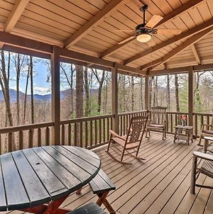 Private Sapphire Valley Resort Cabin With Mtn Views! photos Exterior