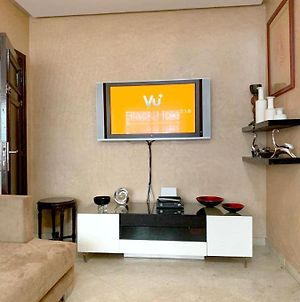 Apartment With 2 Bedrooms Casablanca With Wonderful City View Enclosed Garden Wifi 10 Km From Beach photos Exterior