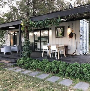 Absolute Riverfront Shipping Container Cabin photos Exterior