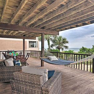 Oceanfront Condo With Balcony And Beach Access! photos Exterior