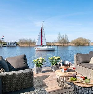 Very Spacious 8-Person Holiday Home In Friesland With Three Bedrooms photos Exterior