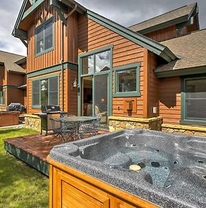 Townhome With Private Hot Tub And Deck Less Than 4Mi To Dt Breck photos Exterior