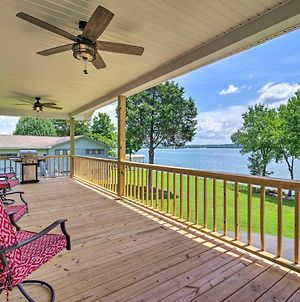 Lakefront Home With Deck, Prvt Boat Dock And Ramp photos Exterior