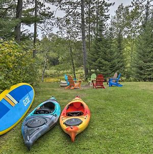 Eagle River Home With Paddle Board And 2 Kayaks! photos Exterior