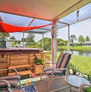 Waterfront House With Hot Tub And Pedal Boat! photos Exterior