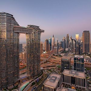 First Class 2Br With Full Dubai Skyline & Sea View photos Exterior
