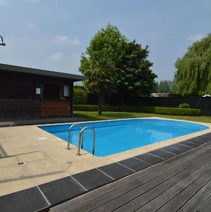 Beautiful Villa For Groups With Swimming Pool, Sauna And Free Wifi photos Exterior