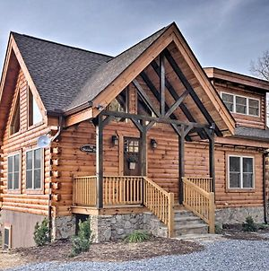 Hilltop Cabin On 5 Acres With Hot Tub And Waterfall! photos Exterior