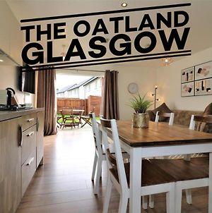 The Oatland Glasgow - Luxury House With Private Garden & Parking photos Exterior
