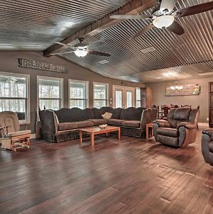 Ferriday Lakehouse Private Dock, Deck And Yard photos Exterior