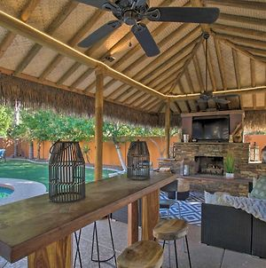 Luxe Desert Oasis With Private Pool And Tiki Bar! photos Exterior