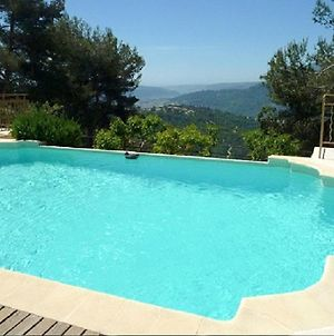 Villa With 5 Bedrooms In La Roquette Sur Var With Wonderful Sea View Private Pool Furnished Garden 25 Km From The Beach photos Exterior