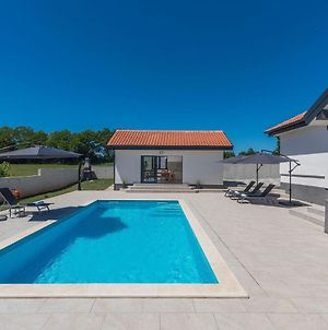 New And Modern Villa With Private Pool And Summer Kitchen In Central Istria photos Exterior