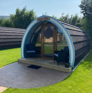 Benone Getaways- 'Carrick-A-Rede' Luxury Glamping Pod- With Hot Tub photos Exterior